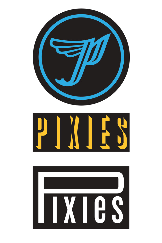 Pixies 2018 Sticker Pack