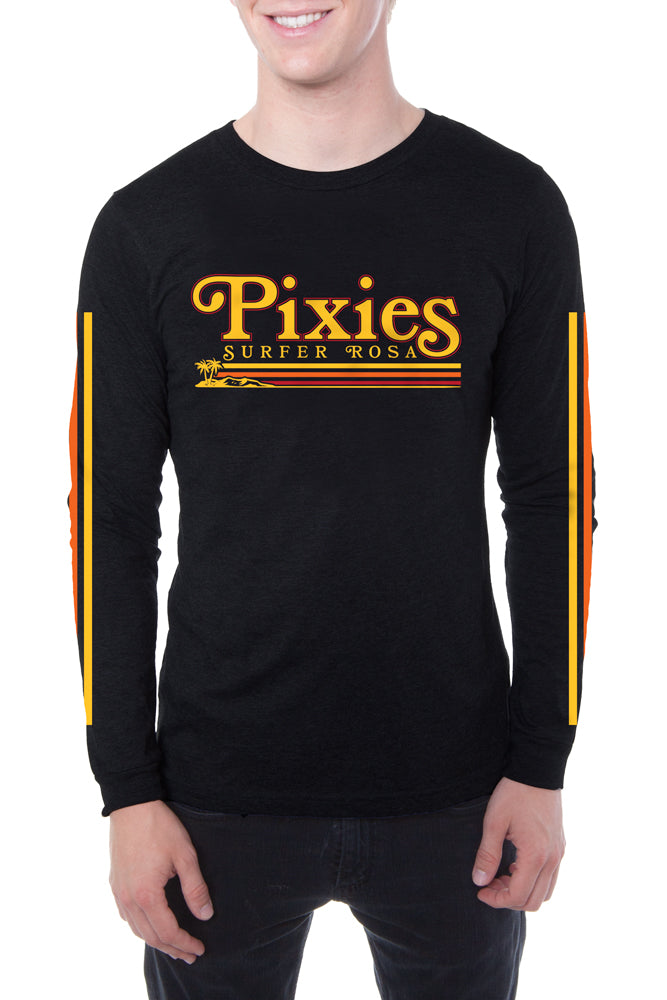 Pixies Vamos Long Sleeve Tee Black