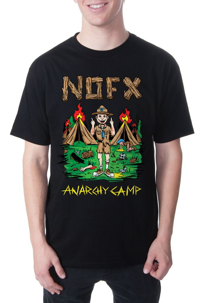 NOFX Anarchy Camp Tee Black