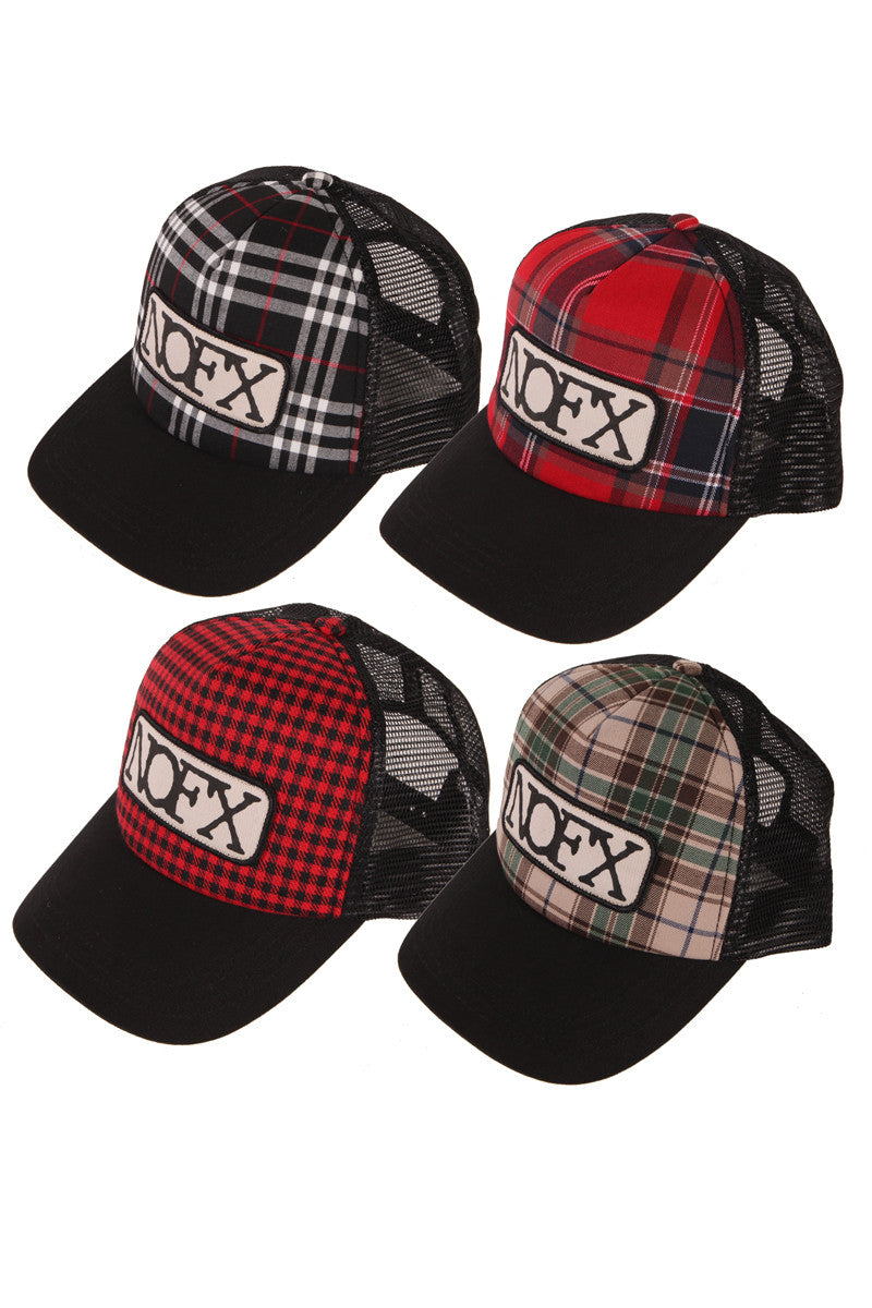 Plaid Trucker