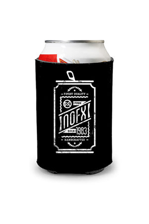 NOFX Beer Can Coozie Black