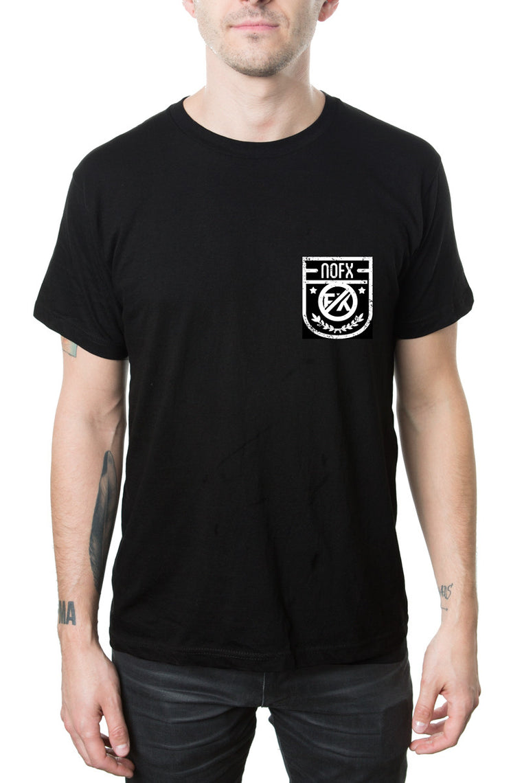 NOFX Beer Can Pocket Tee Black
