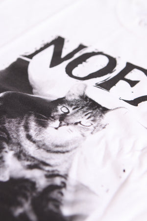 NOFX Fat Cat Tee White