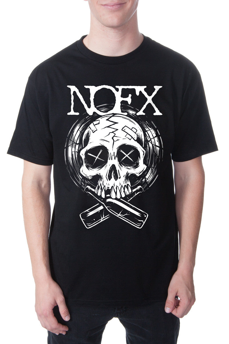 NOFX Last Night Tour Tee Black
