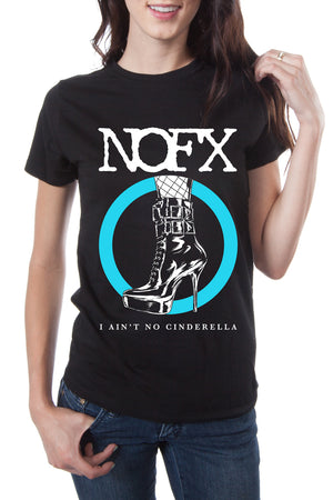 NOFX Lori Meyers Tee Black