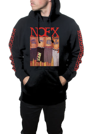 NOFX Trash Pullover Hooded Sweatshirt Black