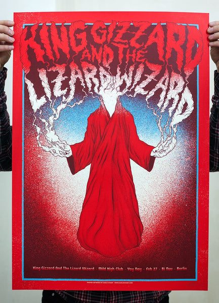King Gizzard And The Lizard Wizard / Gig Poster 2016 I