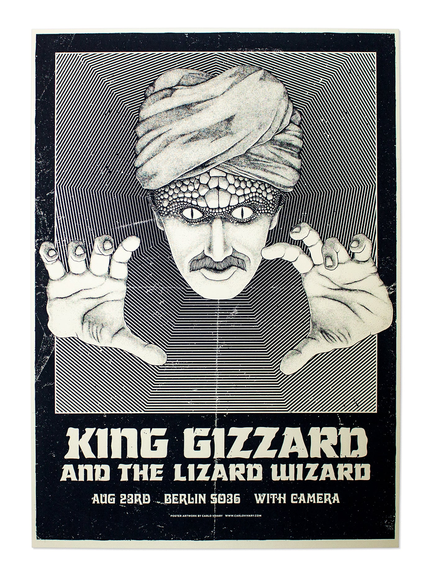 King Gizzard And The Lizard Wizard - Gig Poster Test Print I