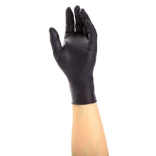 Load image into Gallery viewer, Black Latex Gloves