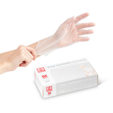 Load image into Gallery viewer, Vinyl Exam Gloves (Powder Free) (Box of 100)