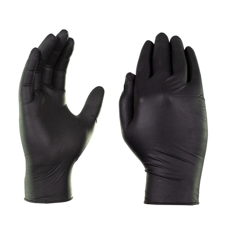 Black Synthetic Nitrile Gloves (Case of 1000)