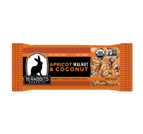 Apricot, Walnut & Coconut Bar (12 bars/pack)