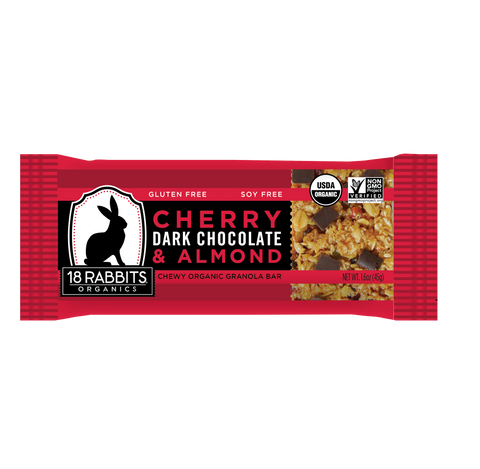 Cherry, Dark Chocolate & Almond Bar (12 bars/pack)