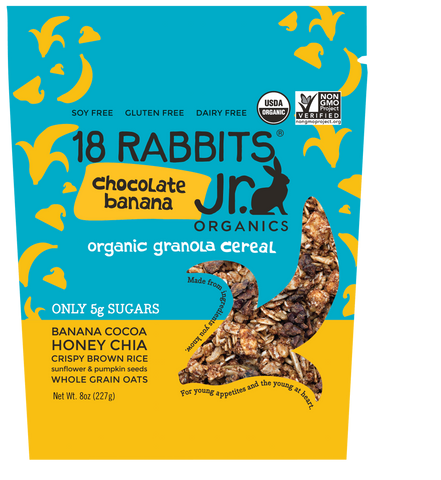 Chocolate Banana Jr. Granola Cereal (8oz/pouch)