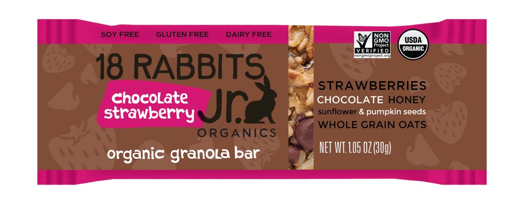Chocolate Strawberry Jr. Bar (6 bars / pack)