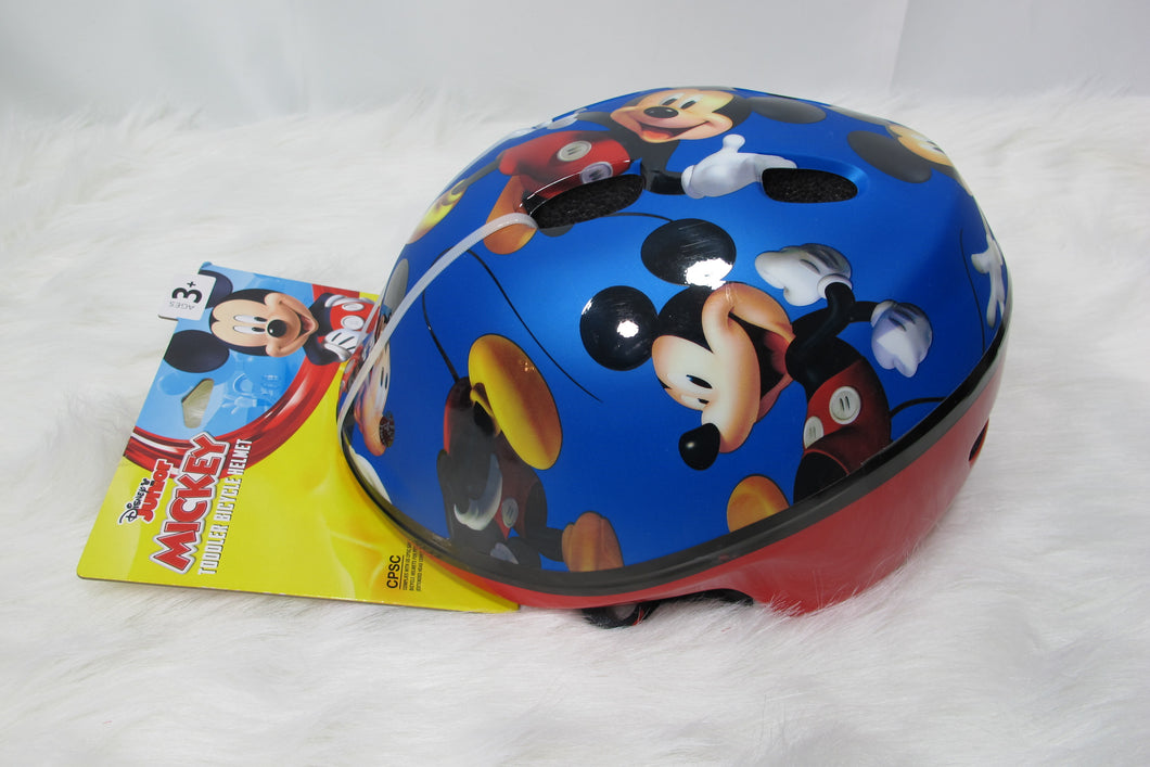 Mickey Mouse Bike Helmet