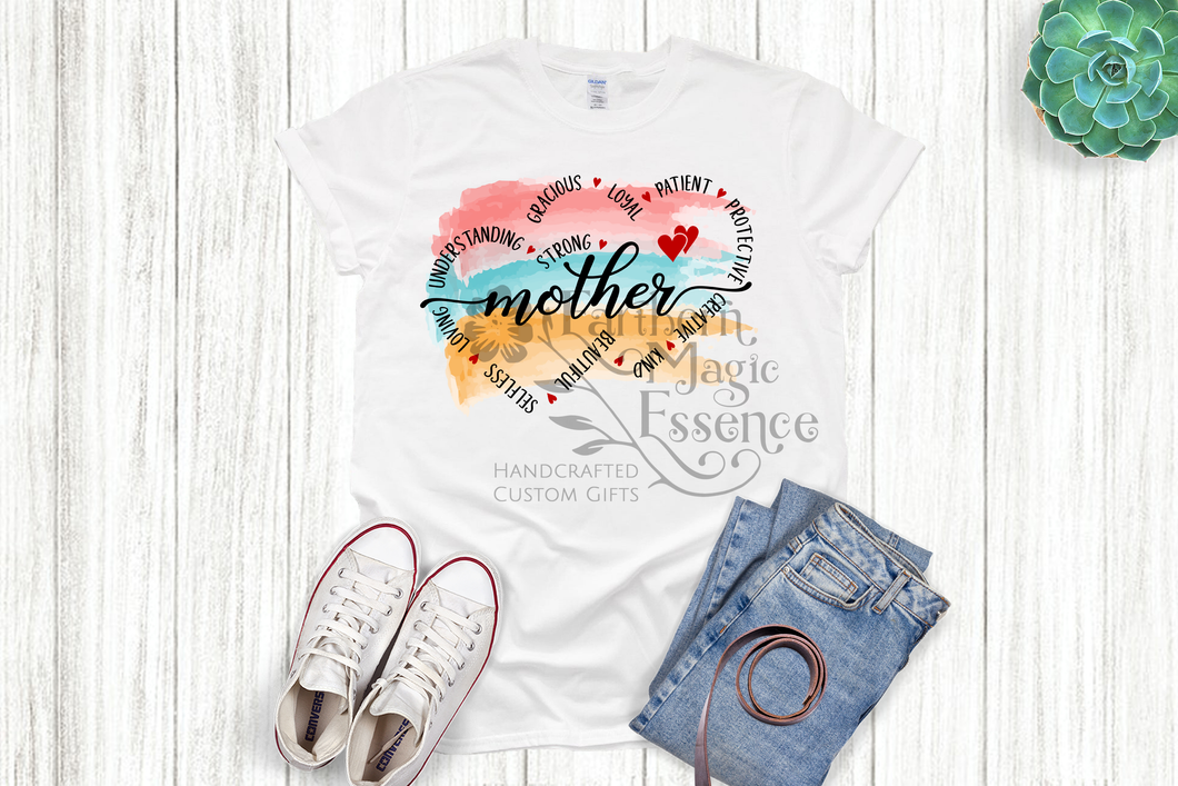 Watercolor Mother T-shirt