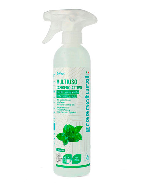 GREENATURAL Multiuso MENTA & EUCALIPTO - ecobio - 500 ml