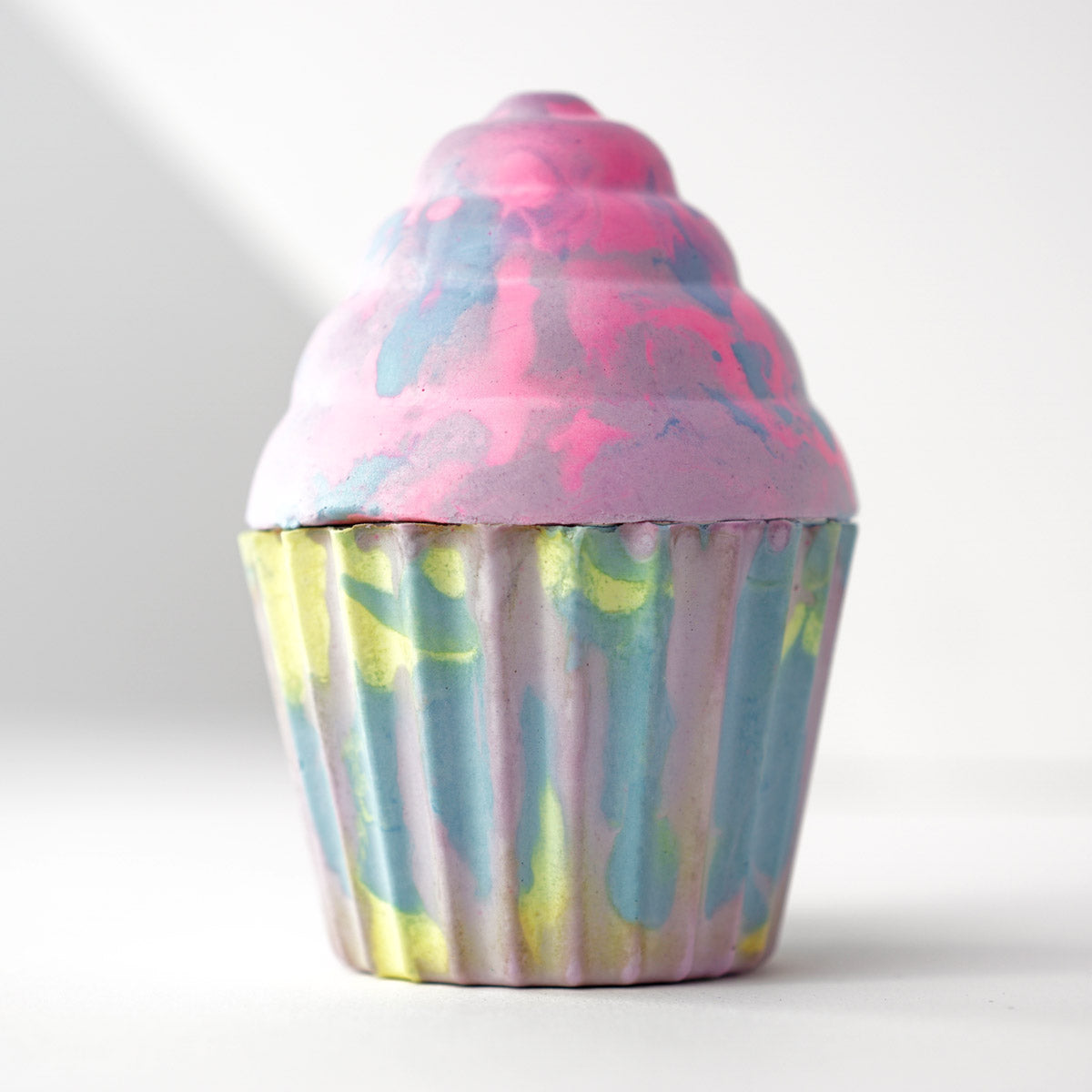 Tie-dye Cupcake Swirl - 'Give a child lifesaving vitamins & medications'