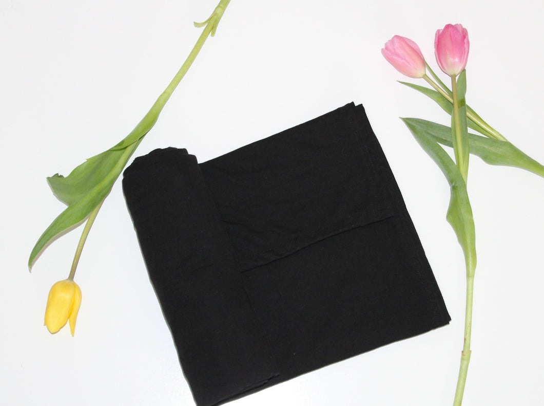 Stretchy Midnight Black Swaddle