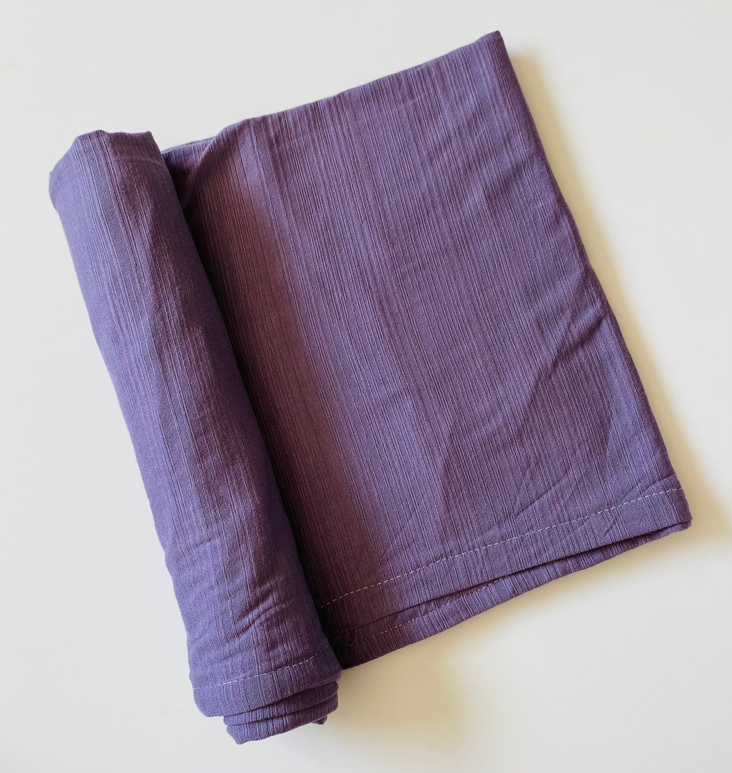 Purple Stretch Swaddle