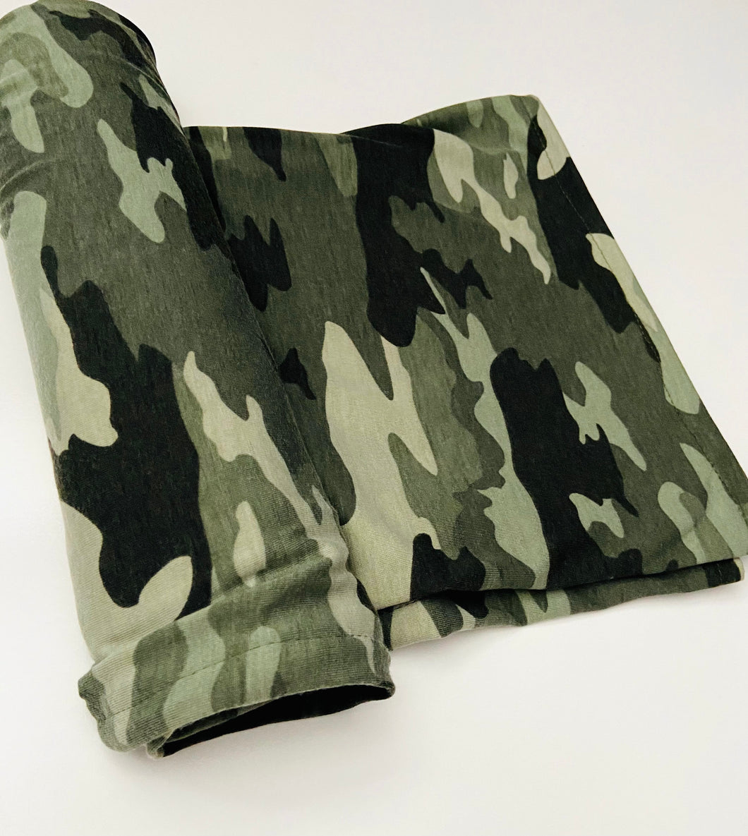 Camouflage Green Swaddle