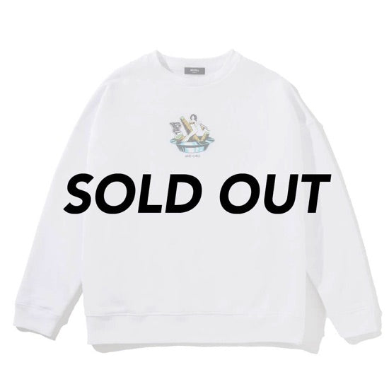 HEAVY CREWNECK ASHTRAY WHITE