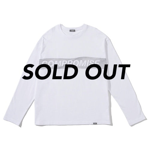COMPROMISE LONG SLEEVE TEE WHITE