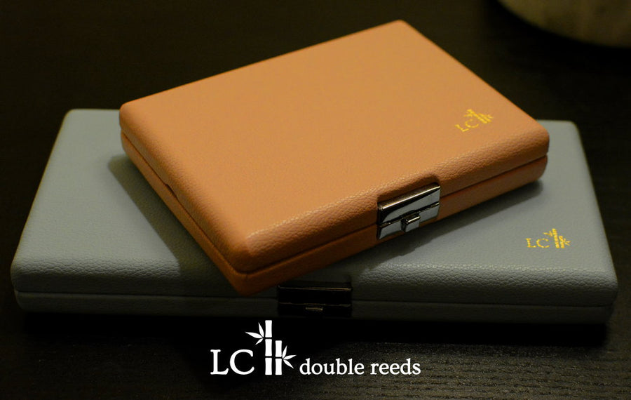 Premium Synthetic Leather Reed Cases for Oboe, Bassoon, and English Horn