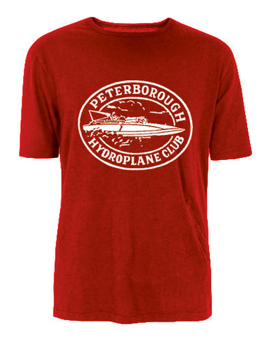T-Shirt - Peterborough Hydroplane Club Red