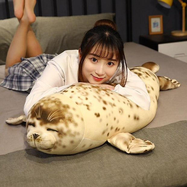 Burrito Seal Pillow