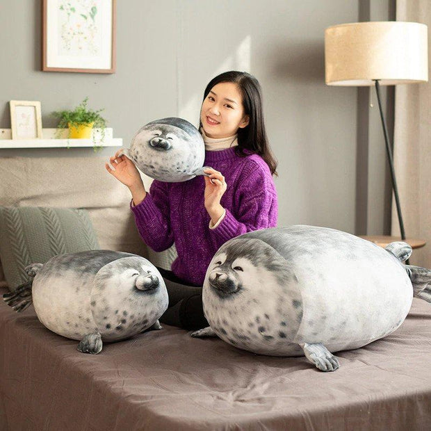 Happy Seal Pillow