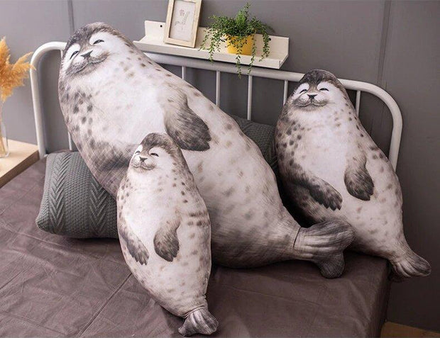 The Chonky Seal Family