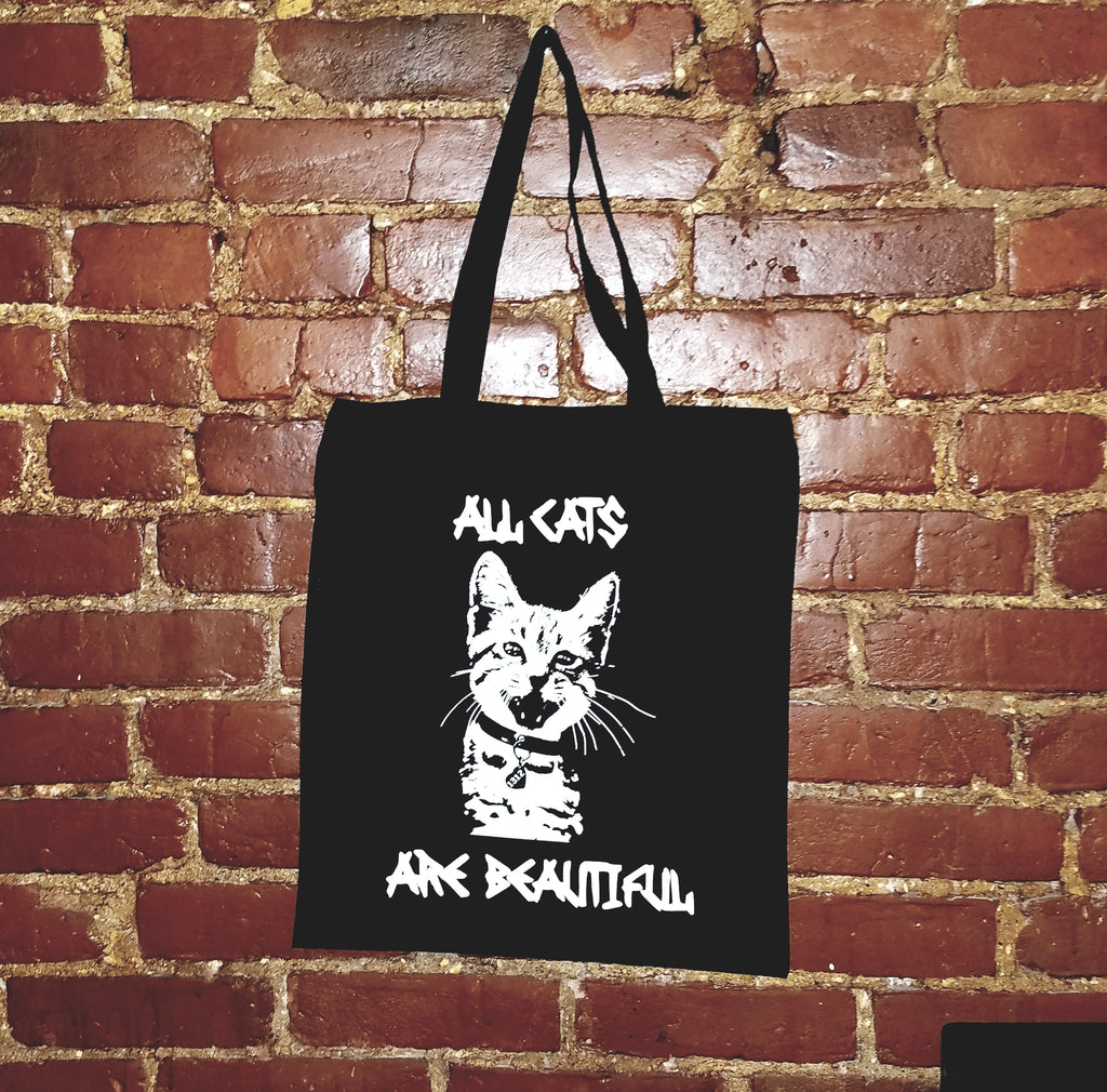 1312 All Cats Are Beautiful tote bag