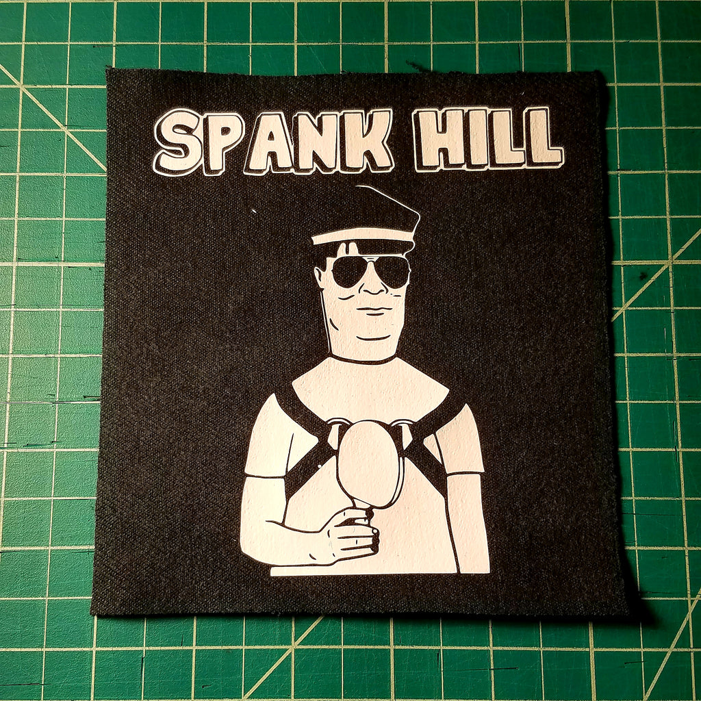 Spank Hill BDSM sew-on patch