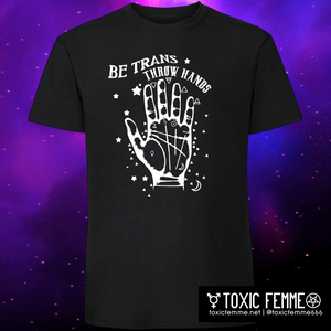Be Trans Throw Hands tee