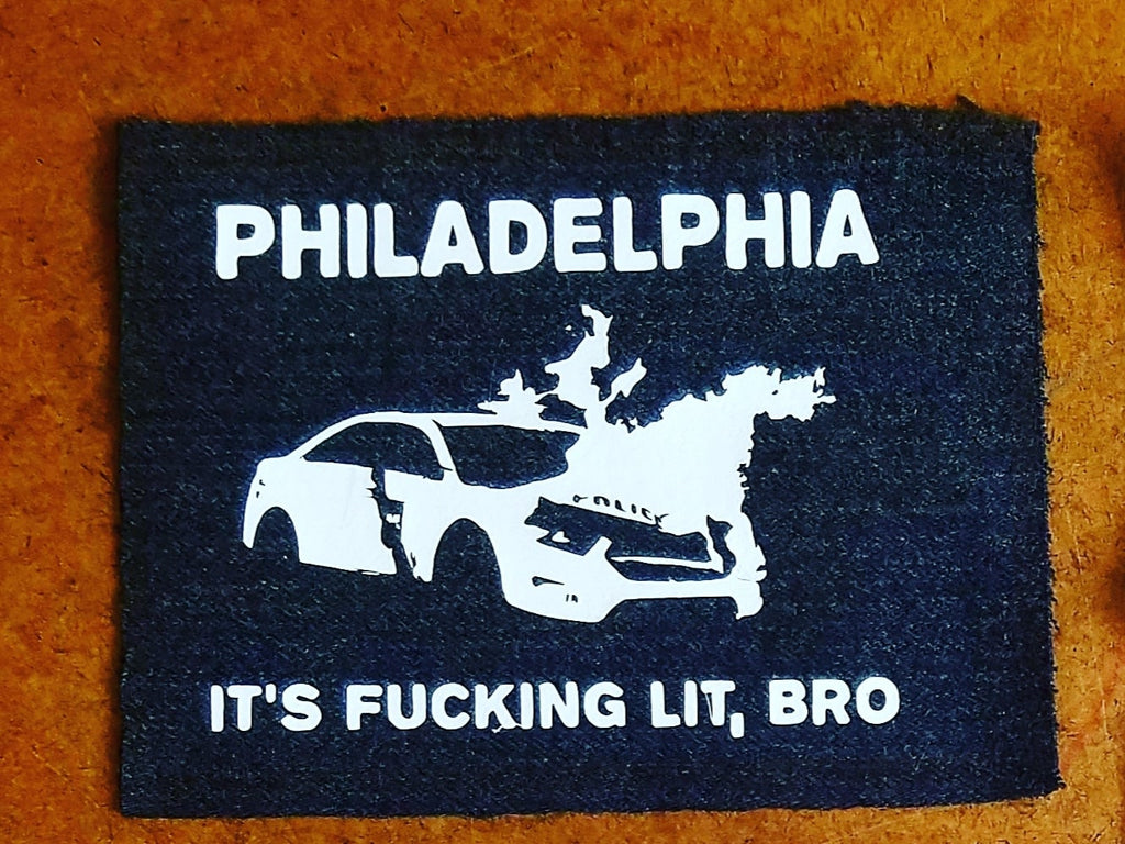 FUCKING LIT sew-on patch