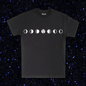 Trans Moon Phases tee