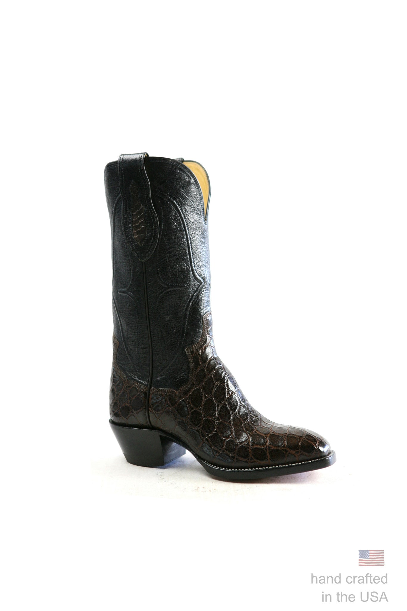 American Alligator Cowboy Boot: Size 10 D