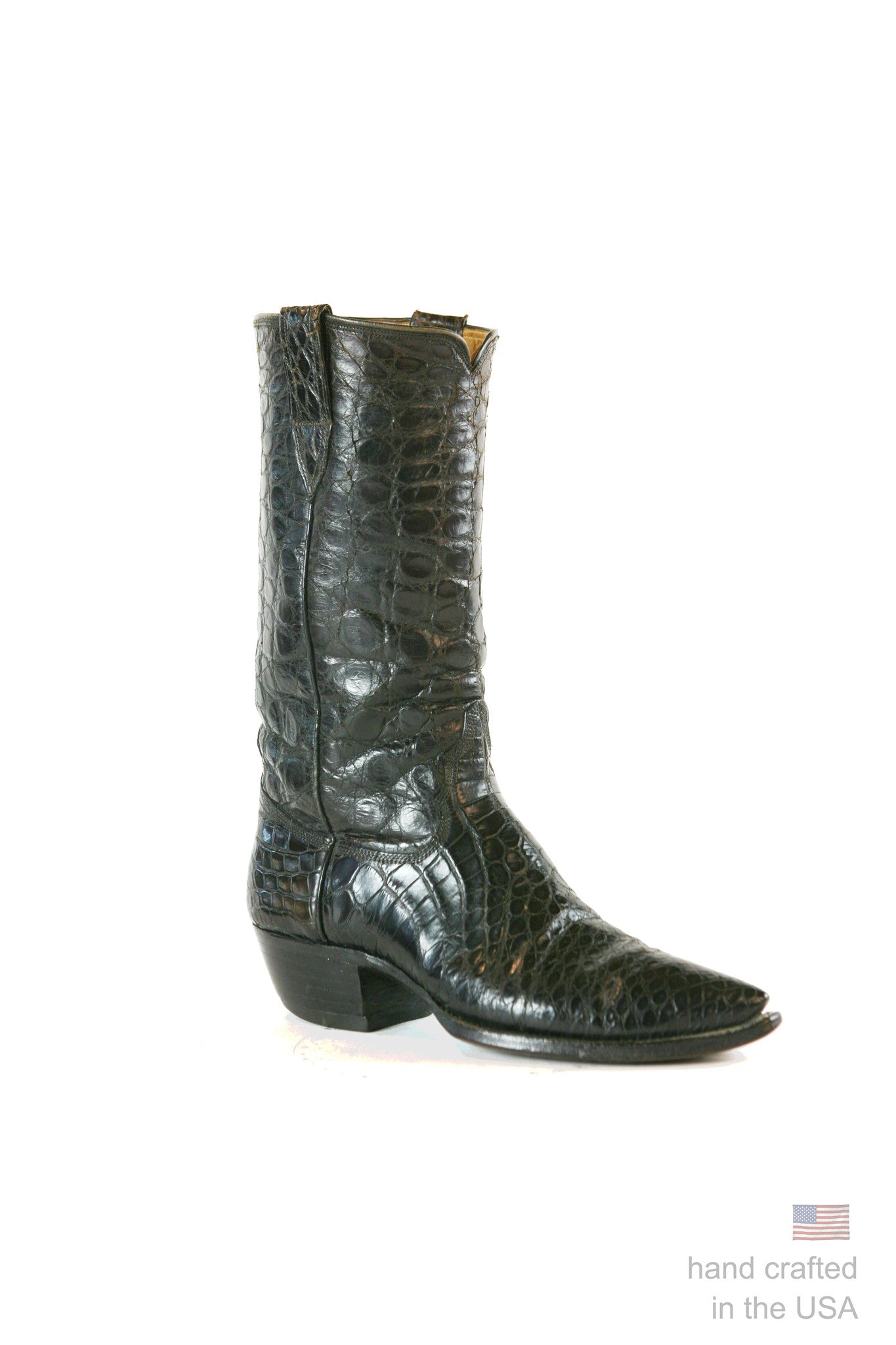 The Las Vegas - American Alligator Custom Cowboy Boot: 26B