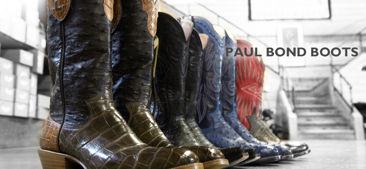 Paul Bond Boots - Custom Cowboy Boots