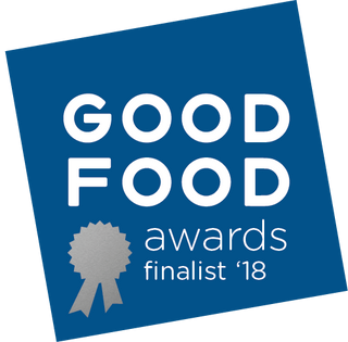 good food award finalist in bean to bar category - golden coconut milk chocolate with turmeric, cardamom, and black pepper