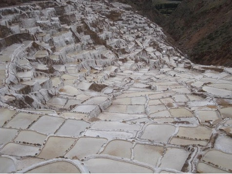 peruvian pink salt - read about the chocolate we make with it, for our monthly vegan chocolate box