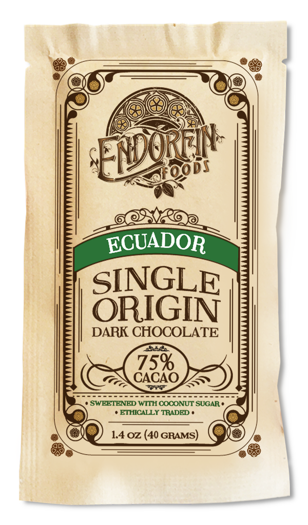 Single Origin Dark Chocolate Bar Ecuador • 75%