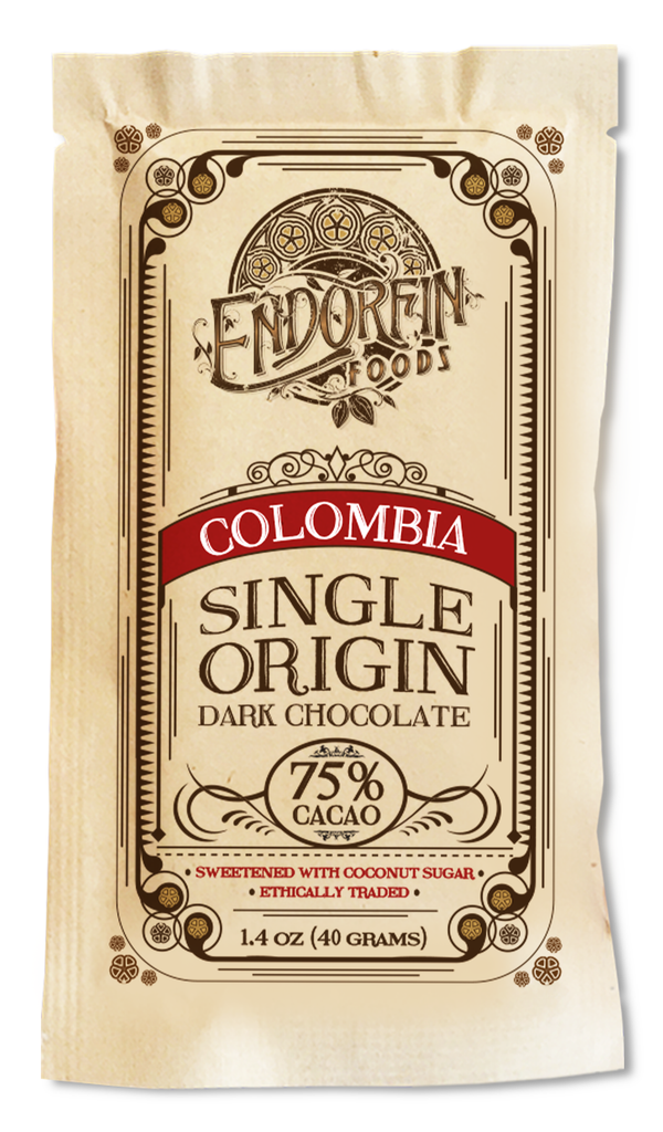 Single Origin Dark Chocolate Bar Colombia • 75%