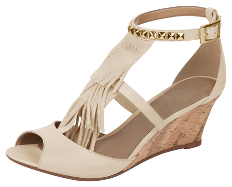 Buttercup Peep-toe Wedge - FINAL SALE
