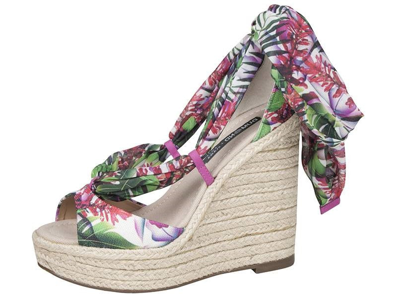 Corcovado Brazil Rio Open Toe Wedge - FINAL SALE