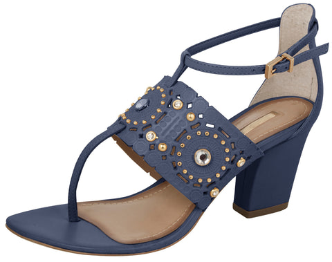 Forget-me-not Blocky Heels - FINAL SALE