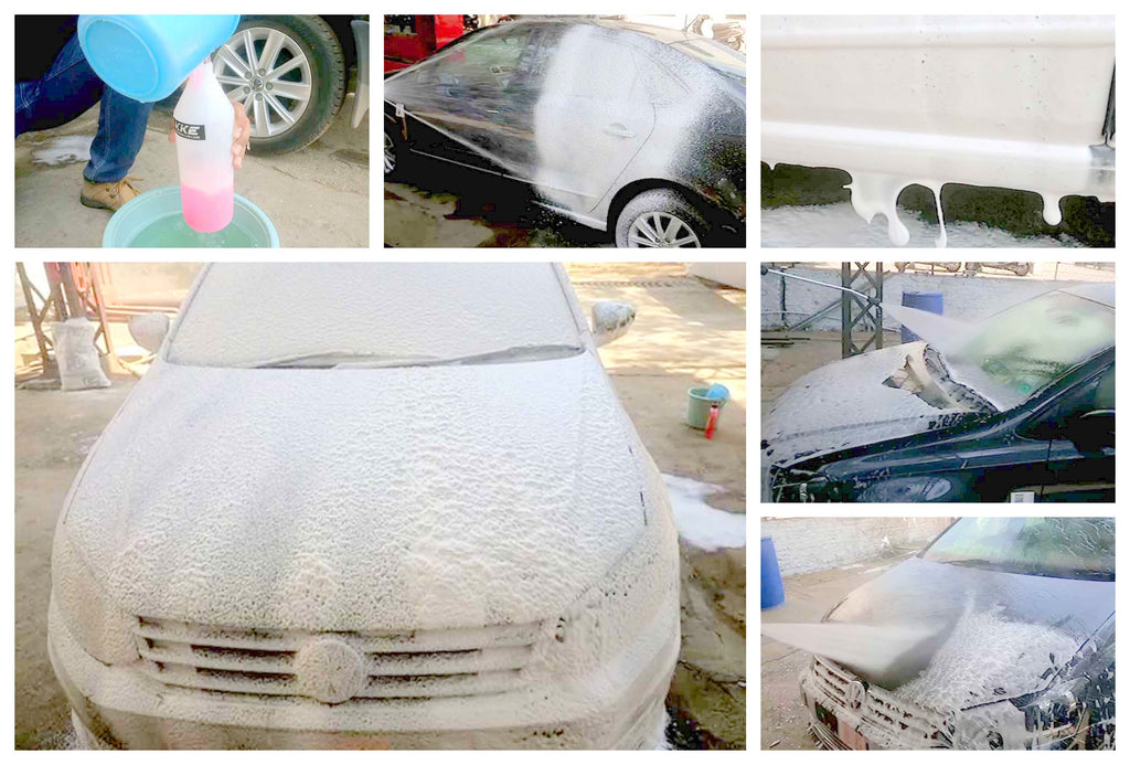Car Wash Shampoo with Foam Gun