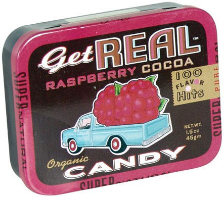 Get Real Organic Candy - Raspberry Cocoa 45g